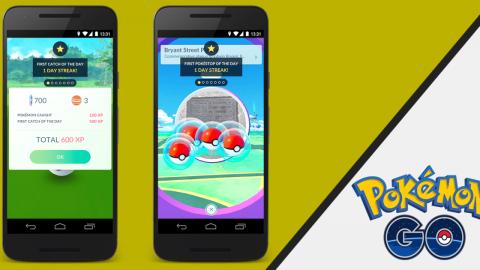 Daily bonuses have arrived at Pokémon Go