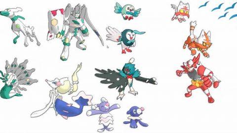 Pokémon Sun and Moon: See all new Pokémon, shiny and Alolan forms